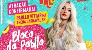 Arena Carnaval Sp – Confirma Pabllo Vittar