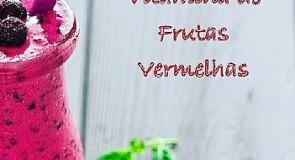 Vitamina de Frutas Vermelhas