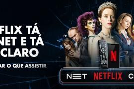 Netflix chega na NetClaro