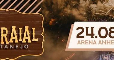 Festival Farraial 2019 na a Arena Anhembi (SP), dia 24 de agosto