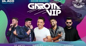 Wesley Safadão grava 5º DVD no próximo Garota VIP, no Rio de Janeiro