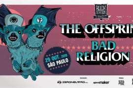 The Offspring e Bad Religion na 3ª edição do Rock Station em SP