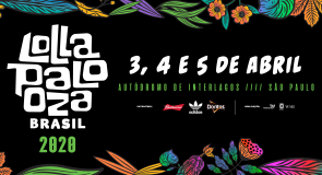 Lollapalooza Brasil 2020 acontecerá nos dias 3, 4 e 5 de abril