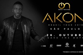 Akon Tour Sāo Paulo – On Music Festival