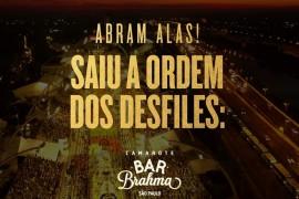 Confira a ordem dos desfile das escolas de samba sp 2020