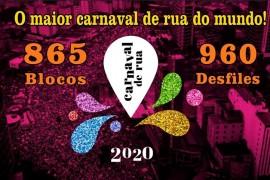 São Paulo terá o maior carnaval de Rua do Mundo em 2020