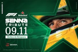 Heineken®, Família Senna e Formula 1® se unem para celebrar os 25 anos do legado de Ayrton Senna