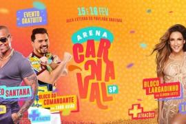 A maior Arena de carnaval de São Paulo está de volta!