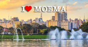 Moema, um dos bairros mais tradicionais de São Paulo, explica à moradora e engajadora, Fabiola Santello