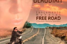 """Claudiah lança """"Free Road"""", nova canção de trabalho, em evento na capital paulista"""