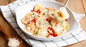 Olive Garden cria massas artesanais para novo cardápio de raviolis