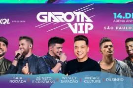 """Wesley Safadão reúne grandes artistas para fechar o ano com """"Garota Vip"""" em São Paulo"""