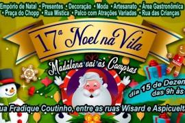 Vem para a 17ª Noel na Vila-  Compras + gastronomia + lazer em um só lugar!
