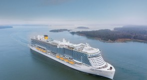 Costa Cruzeiros recebe o flagship Costa Smeralda, seu primeiro navio movido a GNL