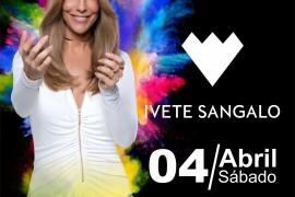 Ivete Sangalo em única apresentação no Espaço das Américas