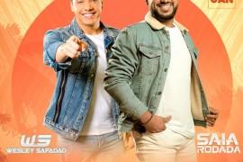 Raí Saia Rodada e Wesley Safadão se apresentam no CTN nesta sexta-feira!