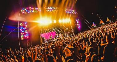 Carnaval das Artes encerra  as quatro noites de shows com Melim e Natiruts!
