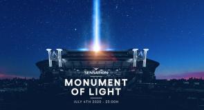 ID & T's Sensation apresenta um tributo impressionante chamado 'Monument of Light' no dia 4 de julho