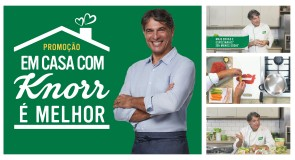 Chef Olivier Anquier prepara vídeos com receitas práticas e nutritivas em nova campanha de Knorr